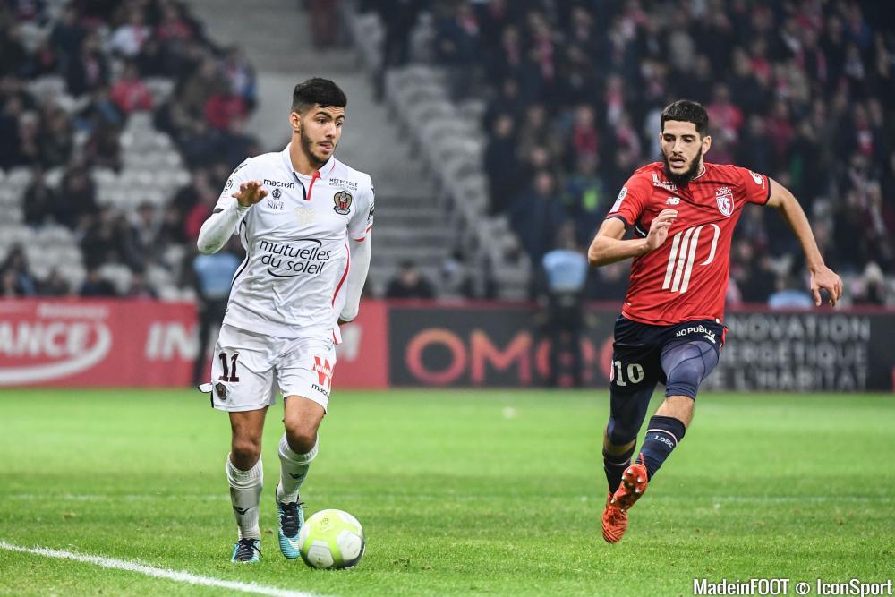 Le Lille OSC s'est incliné face à l'OGC Nice (2-1), ce vendredi soir.