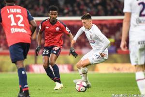 Thiago Mendes est lié au Lille OSC jusqu'en 2022.