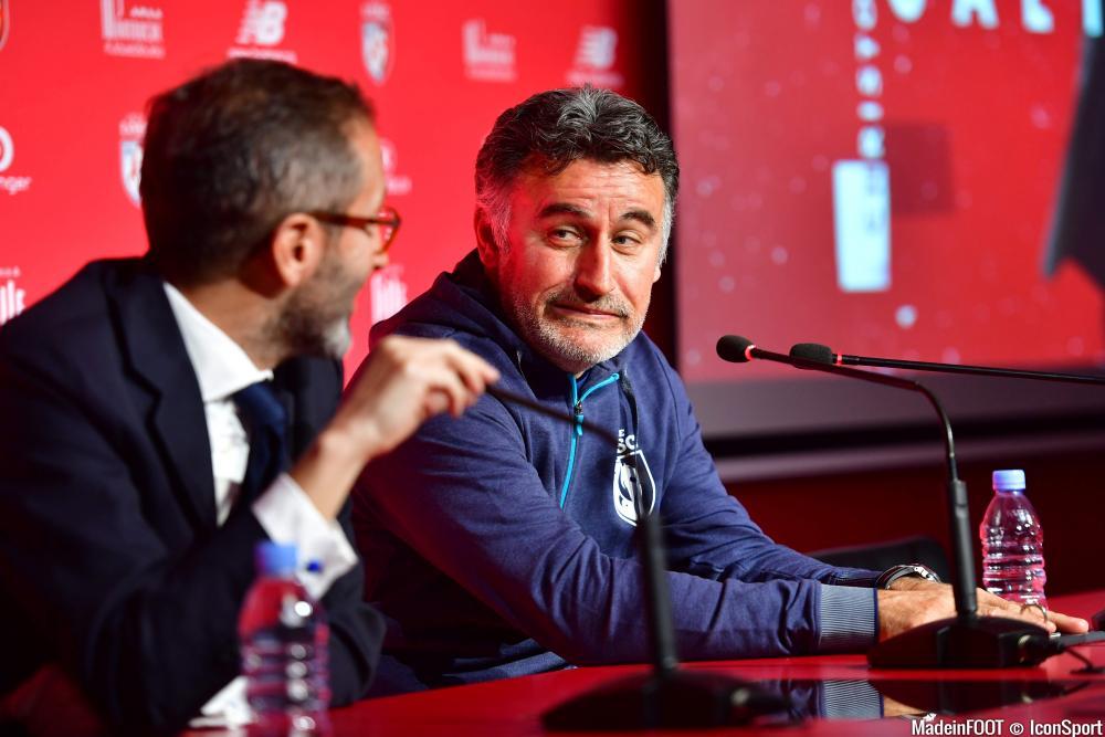 Christophe Galtier (LOSC) est sous contrat jusqu'en 2021.