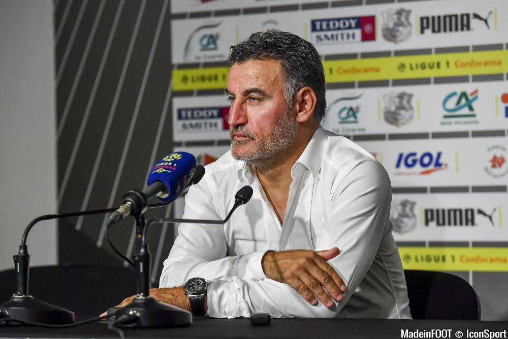 Christophe Galtier (LOSC) arrive en fin de contrat au mois de juin.