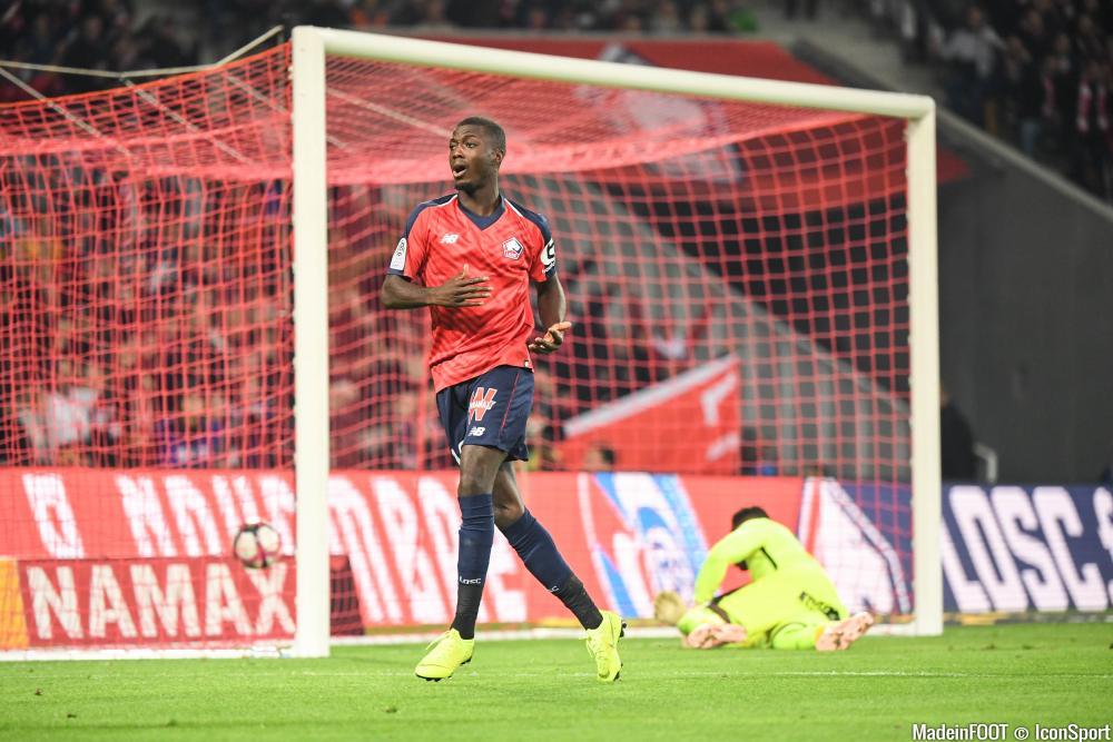 Nicolas Pépé affole les compteurs cette saison.