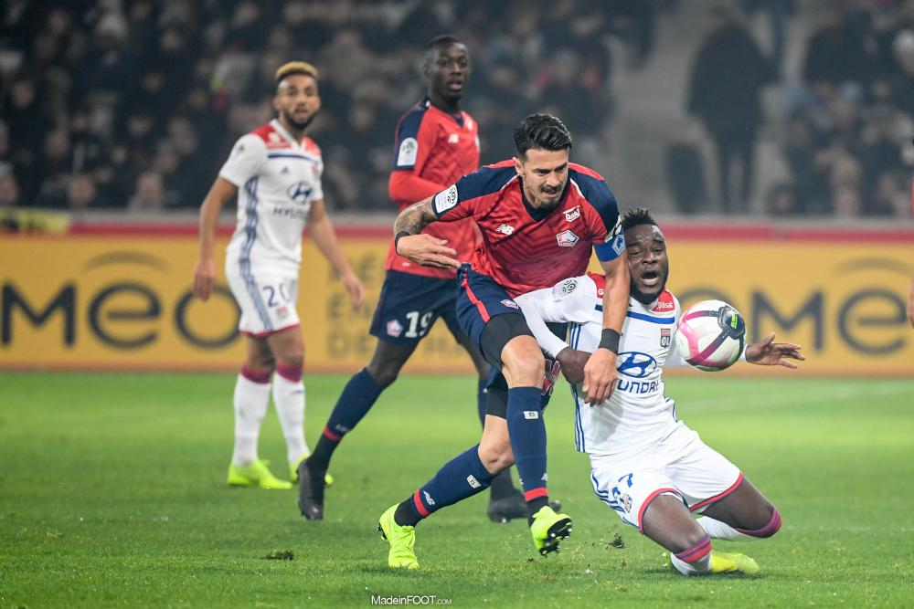 Le Lille OSC et l'Olympique Lyonnais se sont quittés dos à dos (2-2), ce samedi après-midi en Ligue 1.