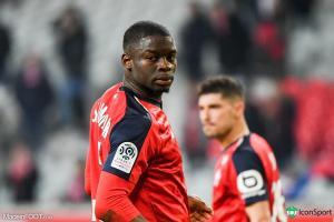 Adama Soumaoro, le défenseur central du Lille OSC.