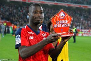 Nicolas Pépé, ici sous les couleurs du Lille OSC.