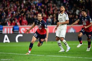 Les compos officielles du match entre l'Olympique de Marseille et le Lille OSC.