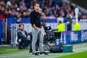 Vincent Hognon, l'entraîneur du Football Club de Metz.