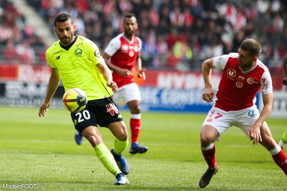 Thiago Maia (Lille OSC) sera titulaire face à l'Olympique Lyonnais.