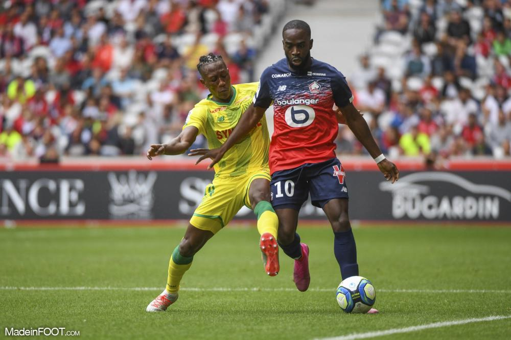 Les compos officielles du match entre le FC Nantes et le Lille OSC.