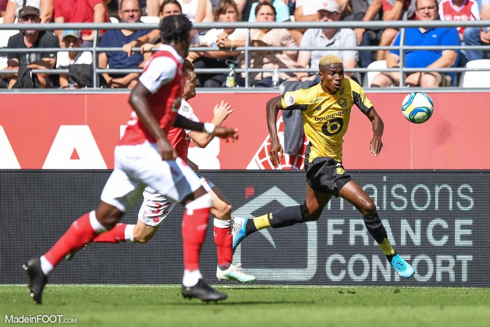 Le Lille OSC a chuté sur la pelouse du Stade de Reims (2-0), ce dimanche après-midi en Ligue 1.