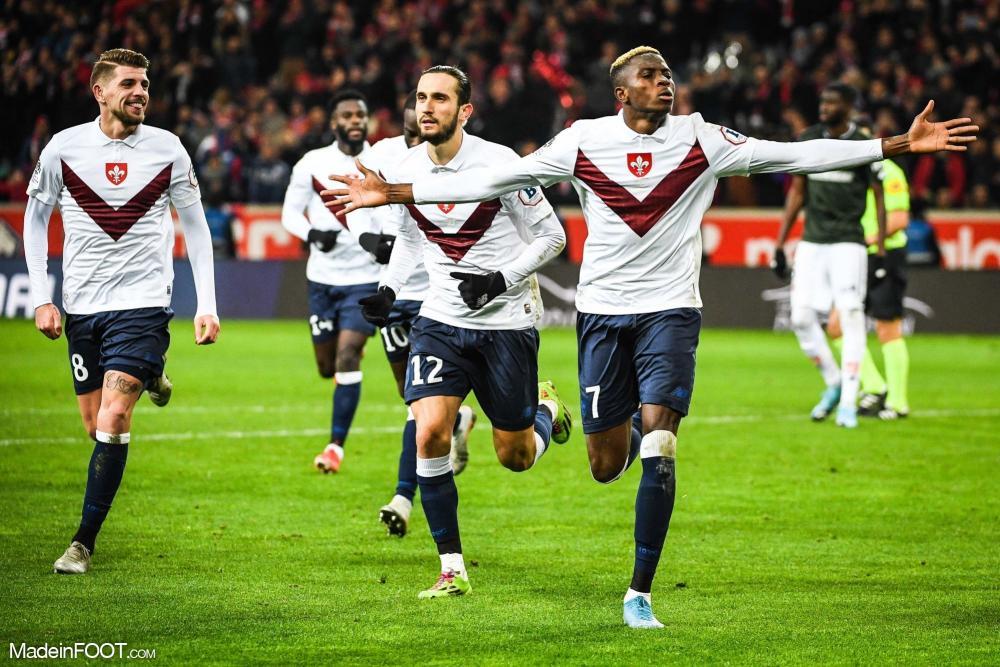 L'album photo du match entre le Lille OSC et le Dijon FCO.