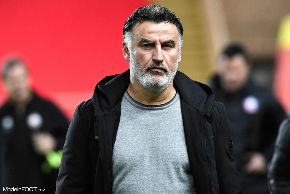 Christophe Galtier est l'entraîneur du LOSC depuis 2017.