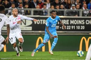 Isaac Lihadji, ici sous les couleurs de l'Olympique de Marseille.
