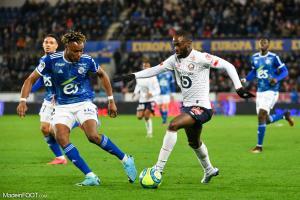 Jonathan Ikoné, le milieu de terrain offensif du Lille OSC, est en tête de deux catégories statistiques.
