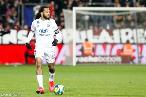 Jason Denayer, le défenseur central de l'Olympique Lyonnais.