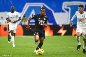 L'album photo du match entre l'Olympique de Marseille et le Lille OSC.