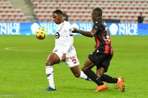 L'album photo du match entre l'OGC Nice et le Lille OSC.