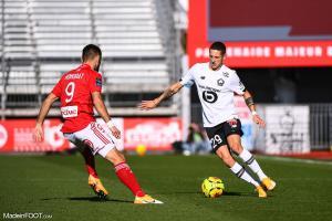Domagoj Bradaric, le défenseur latéral gauche du Lille OSC.