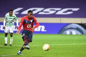 Jonathan David a inscrit son premier but face à Lorient