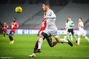 Julien Laporte, le défenseur central du FC Lorient.