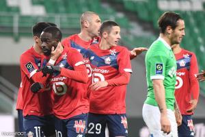 Les compos officielles du match entre le Lille OSC et l'AS Saint-Etienne.
