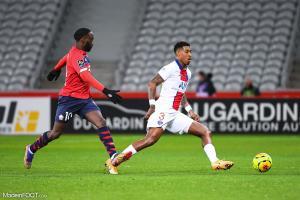 L'album photo du match entre le Lille OSC et le Paris Saint-Germain.