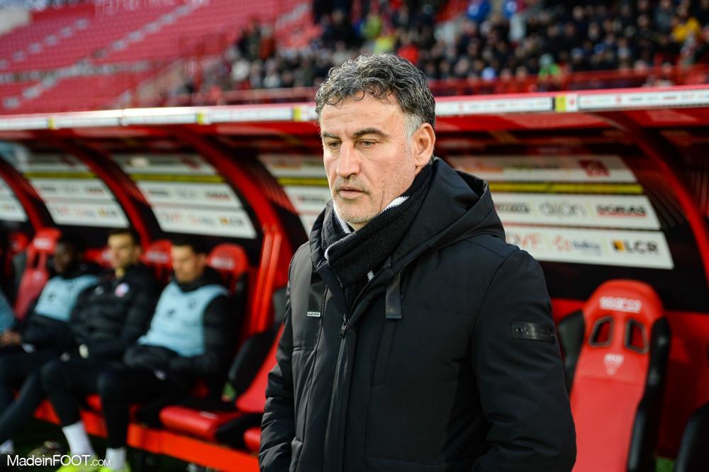 Christophe Galtier, entraineur du LOSC