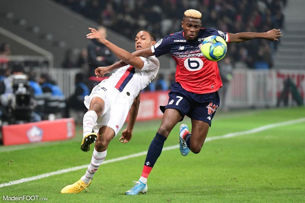 Victor Osimhen, l'attaquant du Lille OSC, est sous contrat jusqu'au 30 juin 2024.