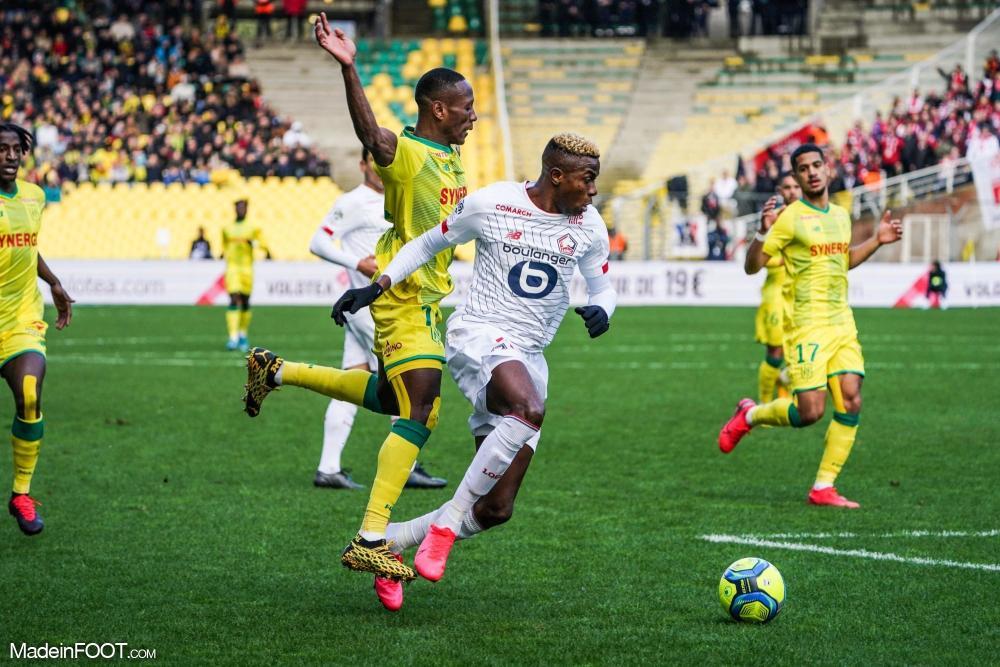 Le Lille OSC s'est imposé sur la pelouse du FC Nantes (0-1), ce dimanche après-midi en Ligue 1.