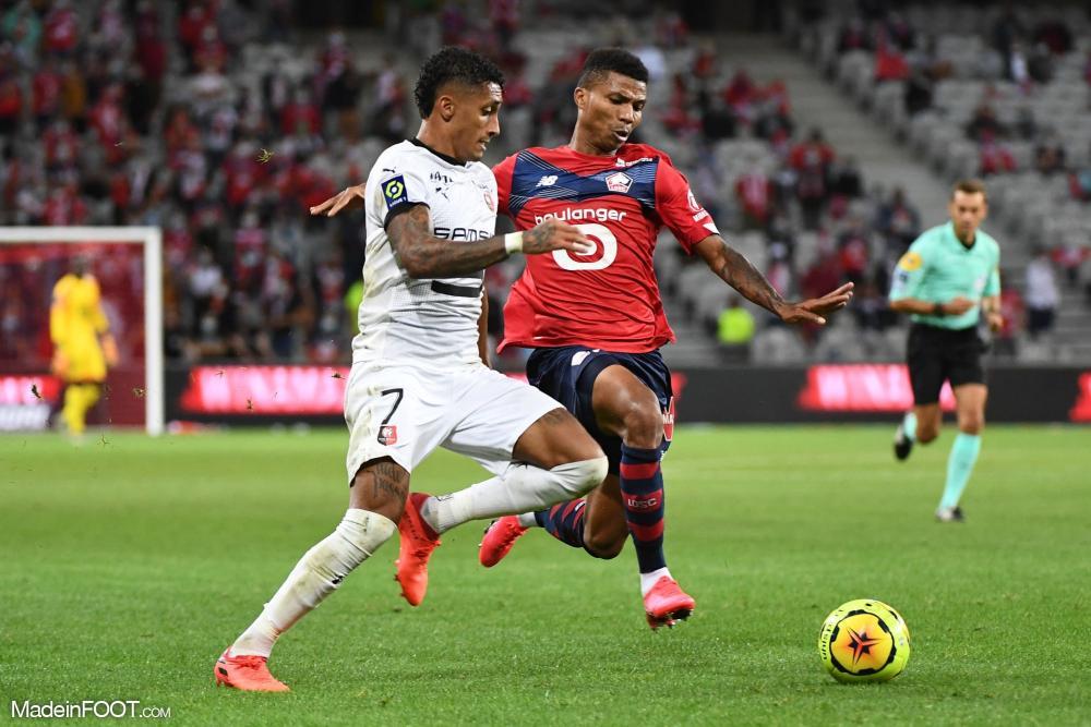 Le Lille OSC et le Stade Rennais FC se sont quittés sur un score de parité (1-1), ce samedi soir en Ligue 1.