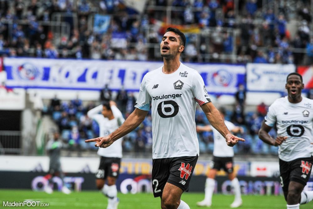 Le Lille OSC s'est imposé sur la pelouse du RC Strasbourg Alsace (0-3), ce dimanche après-midi en Ligue 1.