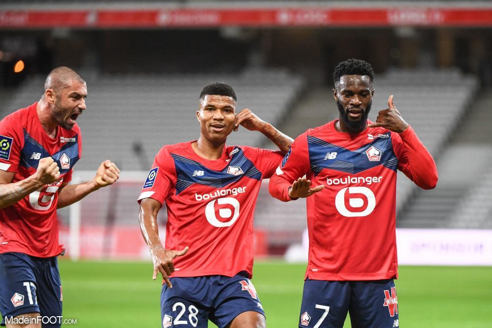 Bamba a marqué son 4ème but de la saison