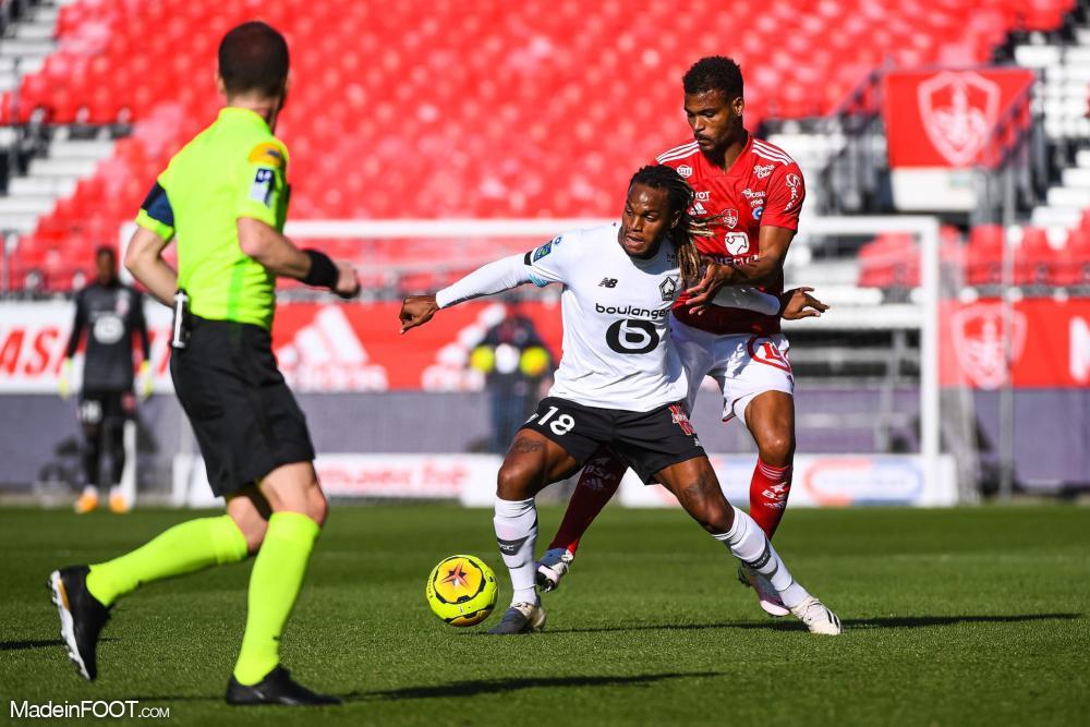 Le Lille OSC s'est incliné sur la pelouse du Stade Brestois 29 (3-2), ce dimanche après-midi en Ligue 1.