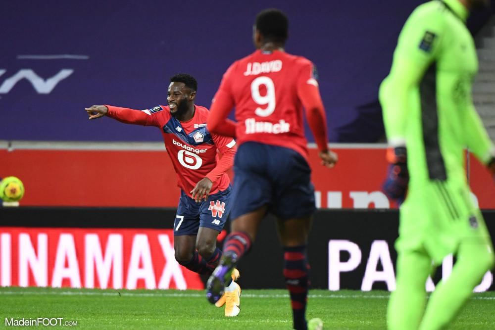 Le Lille OSC a dominé les Girondins de Bordeaux (2-1), ce dimanche après-midi en Ligue 1.