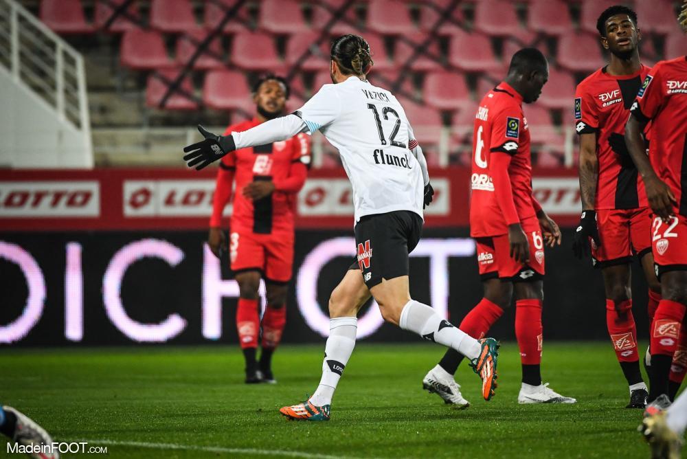 Le Lille OSC s'est imposé sur la pelouse du Dijon FCO (0-2), ce mercredi soir en Ligue 1.