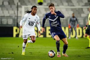 L'album photo du match entre les Girondins de Bordeaux et le Lille OSC.