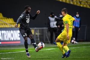 L'album photo du match entre le FC Nantes et le Lille OSC.