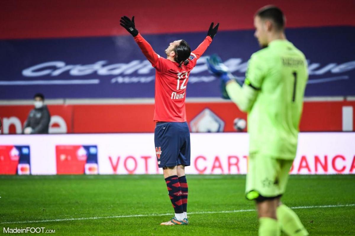 Le Lille OSC s'est imposé face au Dijon FCO (1-0), ce dimanche après-midi en Ligue 1.