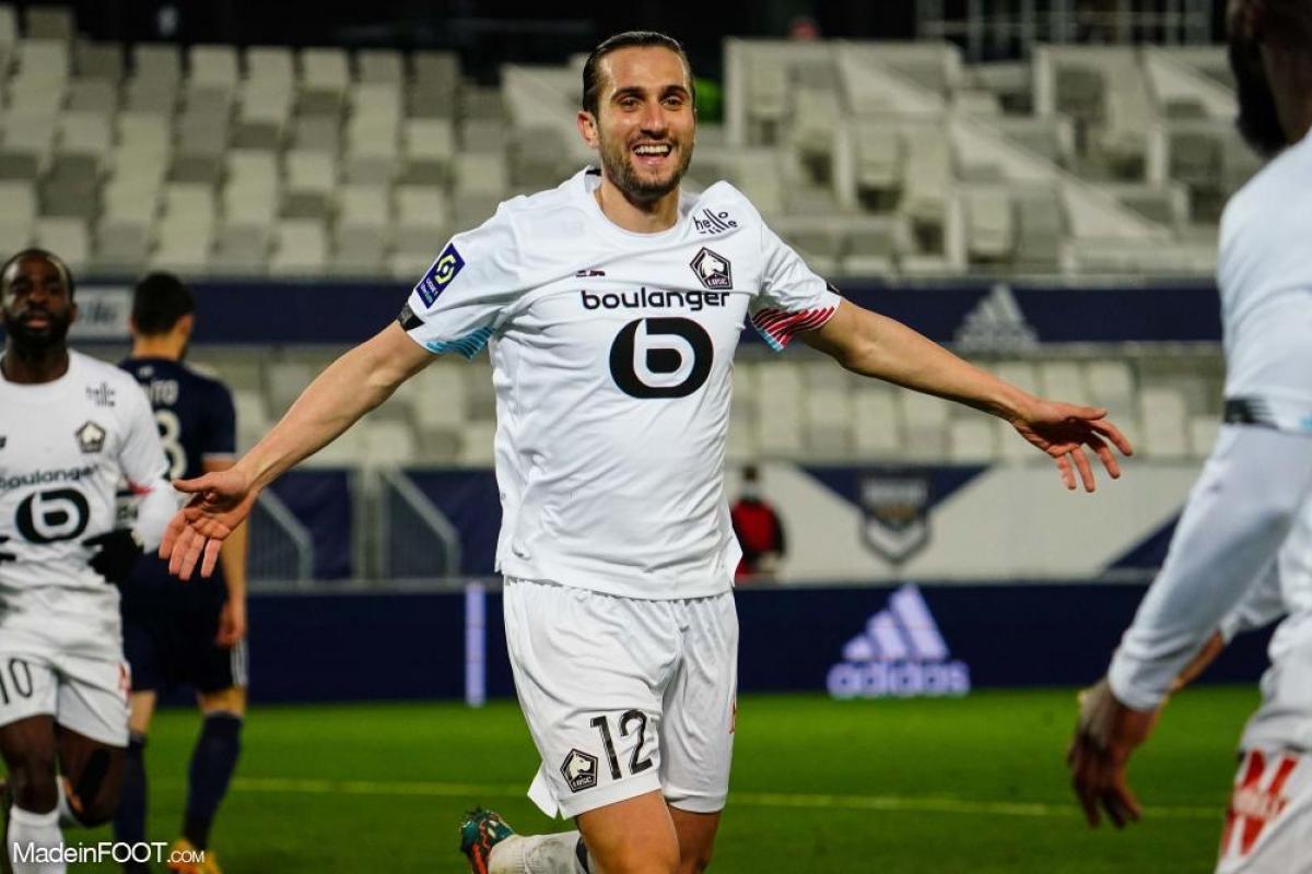 Yusuf Yazici, le milieu de terrain offensif ou attaquant du Lille OSC.