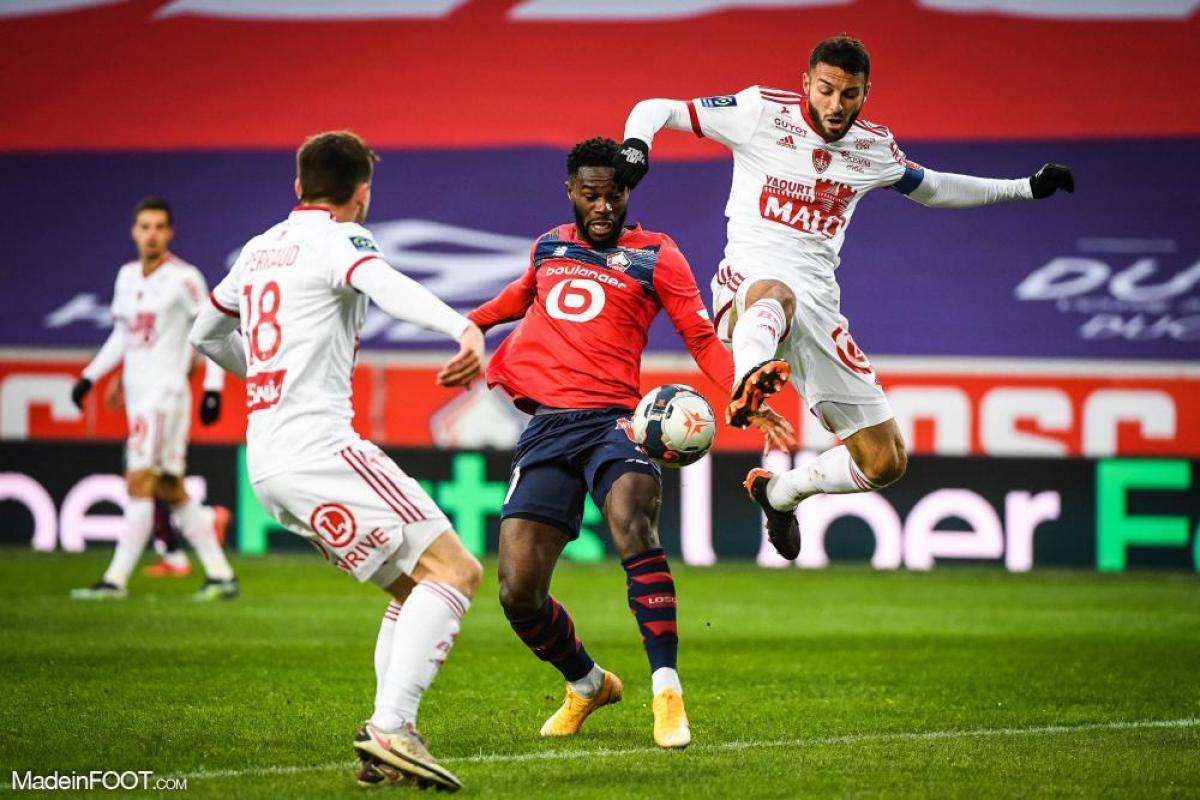 Le Lille OSC et le Stade Brestois 29 se sont neutralisés (0-0), ce dimanche après-midi en Ligue 1.