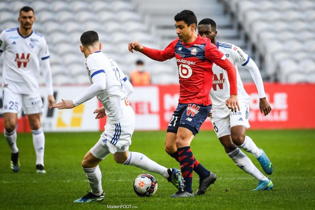Le Lille OSC et le RC Strasbourg Alsace se sont quittés dos à dos (1-1), ce dimanche après-midi en Ligue 1.