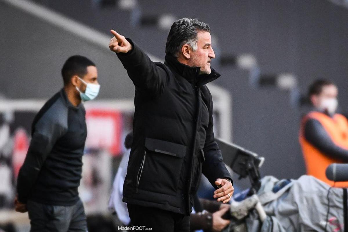 Christophe Galtier, l'entraîneur du LOSC.