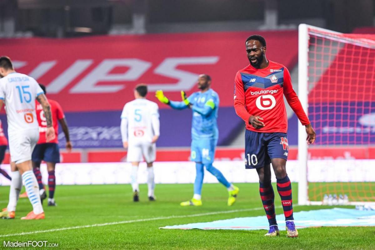 L'album photo du match entre le Lille OSC et l'Olympique de Marseille.