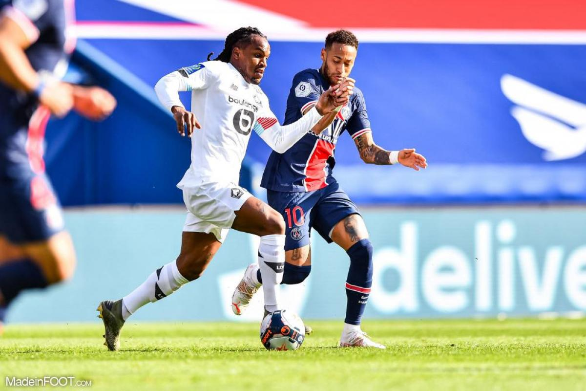 Renato Sanches au duel avec Neymar