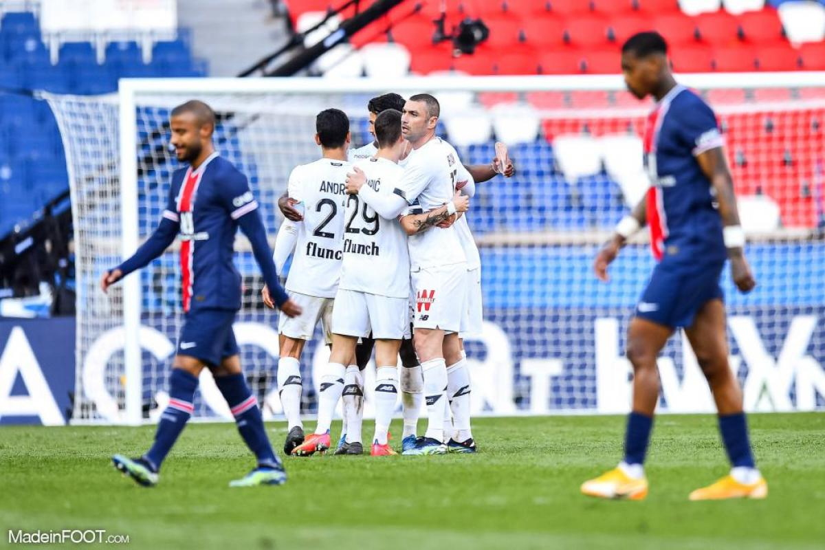 L'album photo du match entre le Paris Saint-Germain et le Lille OSC.