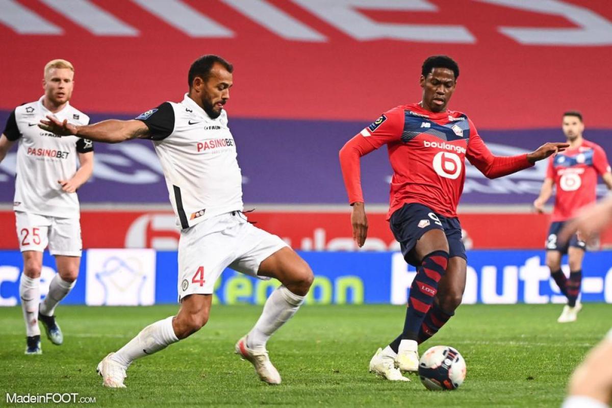 L'album photo du match entre le Lille OSC et le Montpellier HSC.