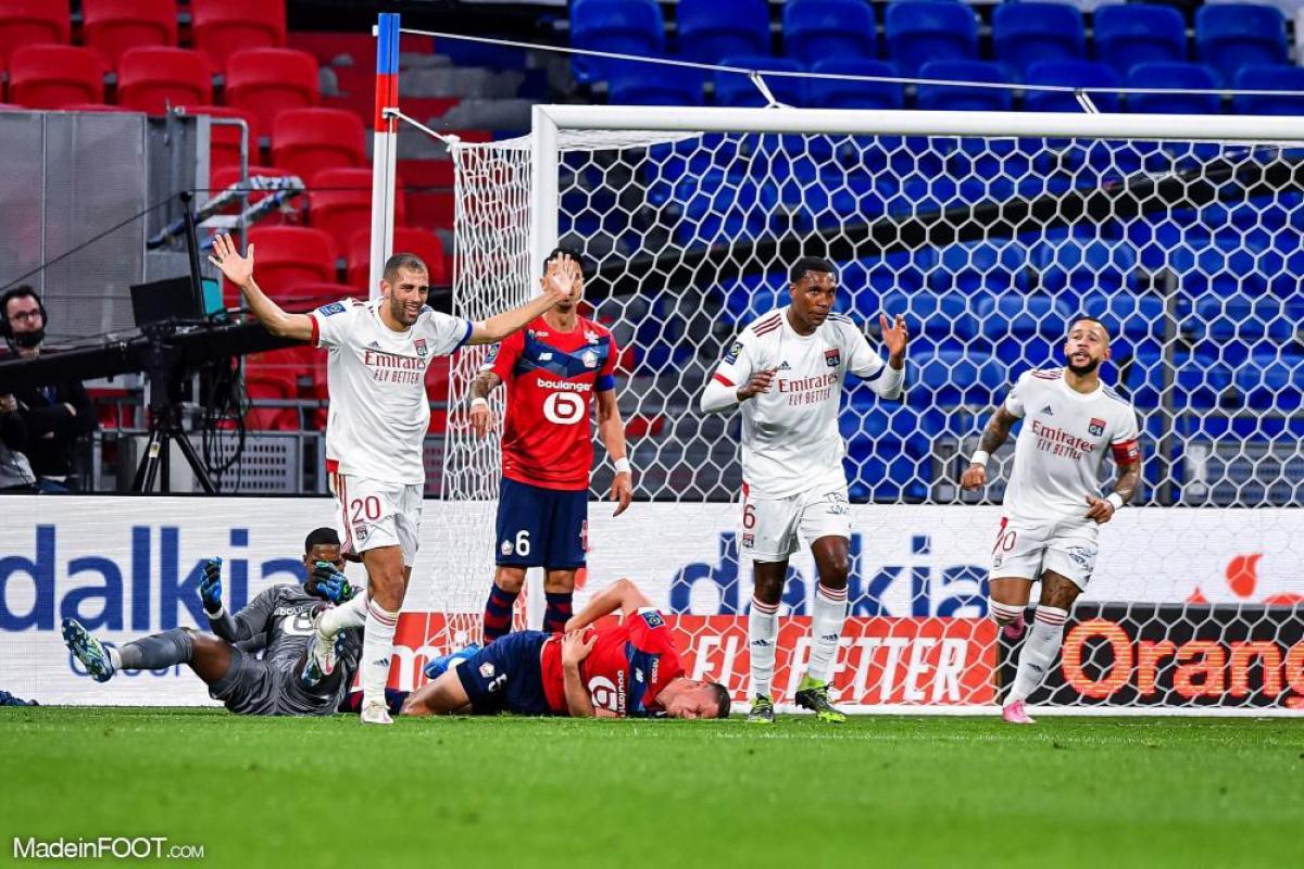 L'album photo du match entre l'Olympique Lyonnais et le Lille OSC.