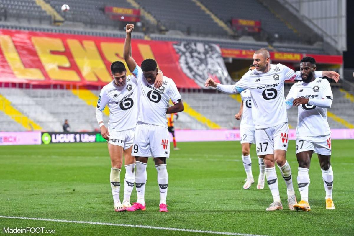 Les compos officielles du match entre le RC Lens et le Lille OSC.