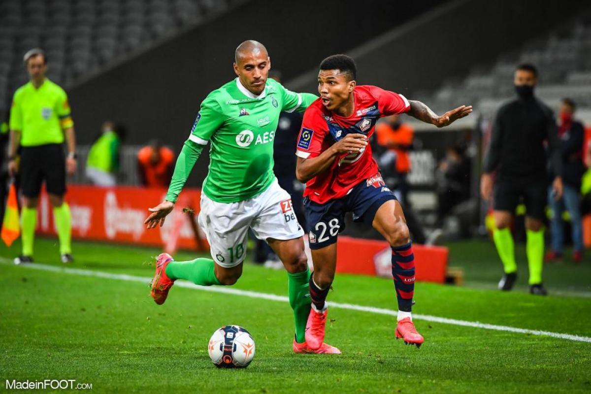 Le Lille OSC a été neutralisé par l'AS Saint-Etienne (0-0), ce dimanche soir en Ligue 1.