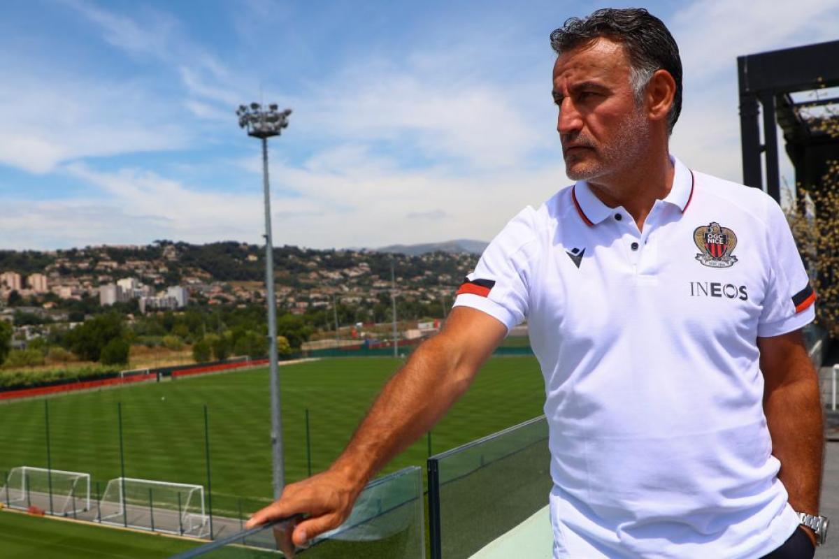 Christophe Galtier, le nouvel entraîneur de l'OGC Nice.