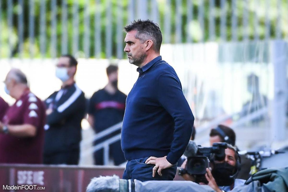 Jocelyn Gourvennec, l'entraîneur du Lille OSC.
